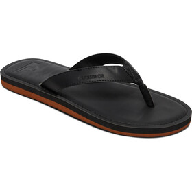 Quiksilver Molokai Nubuck II Sandals Men solid black